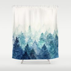 Fade Away Shower Curtain