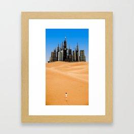 Desert 2 Framed Art Print