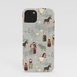 Nativity - the Birth of Jesus iPhone Case