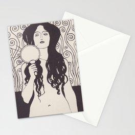 Naked Truth or Nuda Veritas Stationery Cards