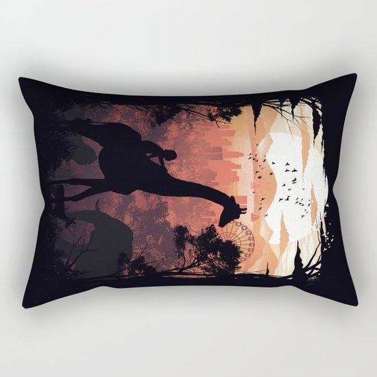 From City to Jungle Rectangular Pillow
