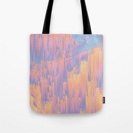 Chillhop Beats - Abstract Pixel Art Tote Bag