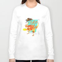 street fighter Long Sleeve T-shirts featuring STREET FIGHTER - DHALSIN by mirojunior