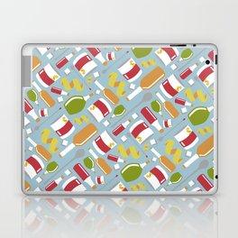 Sazarac Blue Laptop & iPad Skin