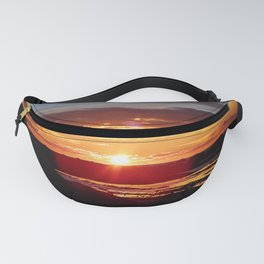 Ground Level Sunset Fanny Pack