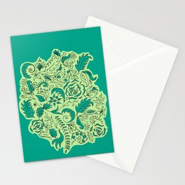 Vintage Lace Appliqué Stationery Cards
