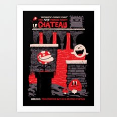 Le Château Art Print