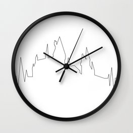 Hogwarts Heartbeat Wall Clock