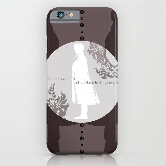 I Believe in Sherlock Holmes iPhone & iPod Case