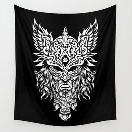 Odin The Allfather - Asgard God And Chief Of Aesir Wall Tapestry