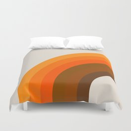 Golden Bow Duvet Cover