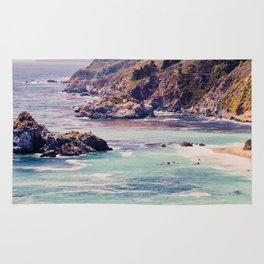 Ocean, Beach, West Coast, Travel, Pacific Coast Highway, California, Oregon, Pacific Northwest Rug