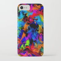 psychedelic art iPhone & iPod Cases featuring Psychedelic  by Lord Rukaj