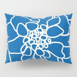 peony cobalt Pillow Sham