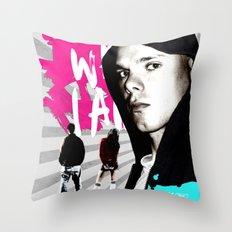 I Am What I Am Throw Pillow