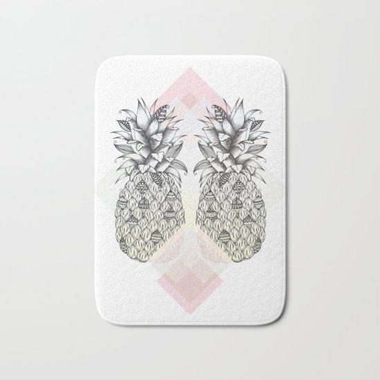 Tropical - Pink Bath Mat