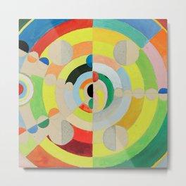 "Robert Delaunay ""Relief-Disques"" Metal Print"