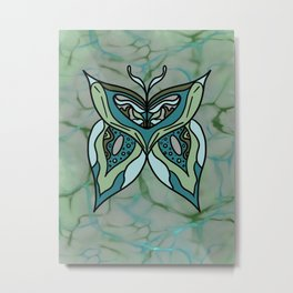 transformation butterfly Metal Print