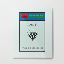 Occupy Wall Street? Metal Print