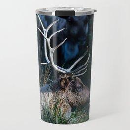 Bull Elk at Bear Country Travel Mug
