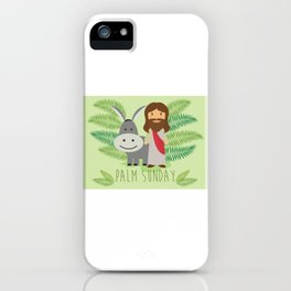 Happy Palm Sunday iPhone Case