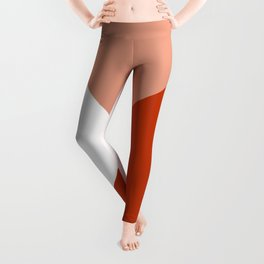 Rust Angles Leggings