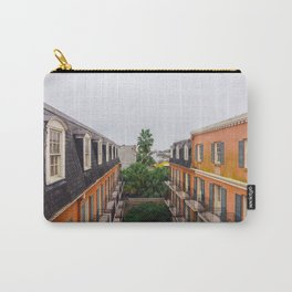The Colorful Buildings and Palm Trees in New Orleans Carry-All Pouch