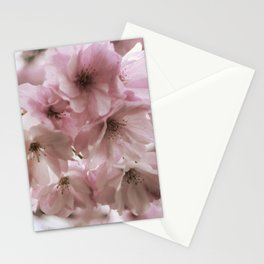 Double-flowered cherry tree Stationery Cards