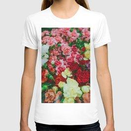 Flowerbed (Color) T-shirt