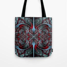 Red Revolver Tote Bag