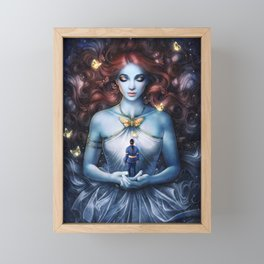Strange the Dreamer Framed Mini Art Print
