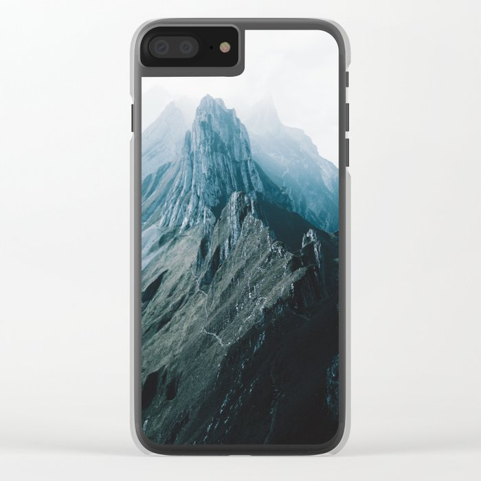 All of the Lights - Landscape Photography Clear iPhone Case