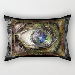 Eye of the Elemental Universe Rectangular Pillow