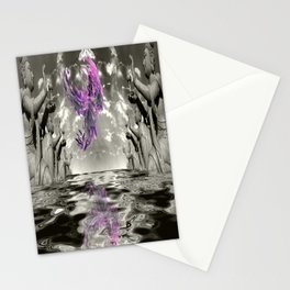view from the Temple Stationery Cards