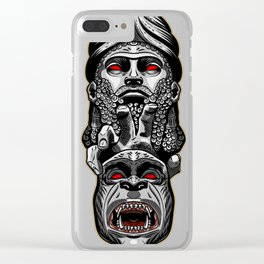 Anunnaki - from the sky to the earth Clear iPhone Case