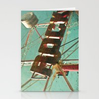 rock and roll Stationery Cards featuring Rock and Roll by Cassia Beck