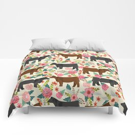 Angus cattle farm friendly gifts perfect for homesteader homestead lover Comforters