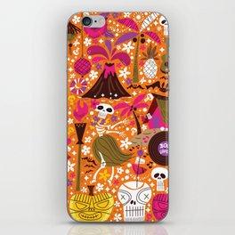 Tiki Freaks do the Hulaween iPhone Skin