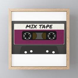 The Mix Tape II Framed Mini Art Print