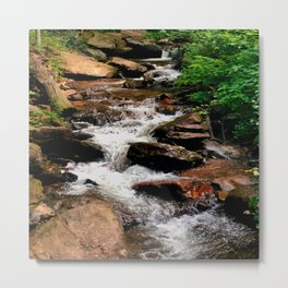 Alabama Water Fall Metal Print