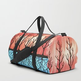 Tree Trunks & Root Systems Duffle Bag