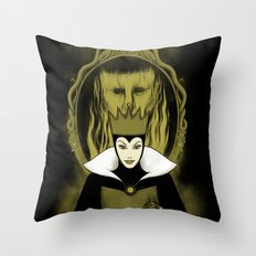 Evil Queen Throw Pillow