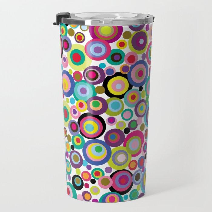 Confetti Dots Travel Mug