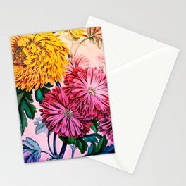 Garden Mums Stationery Cards