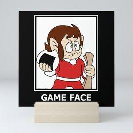 Alex Kidd - Game Face Mini Art Print