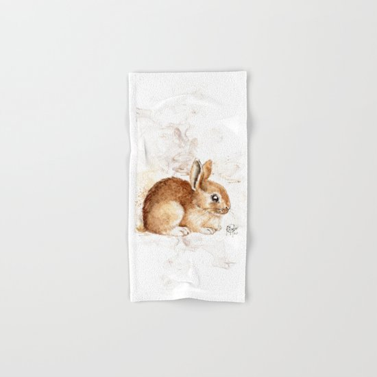Bunny Hand & Bath Towel