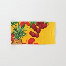 Tropical Pineapple Hand & Bath Towel