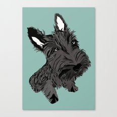 Scottie Canvas Print