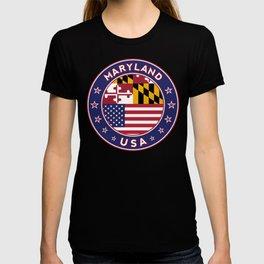 Maryland, Maryland t shirt, Maryland sticker, Maryland Poster T-shirt