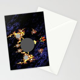 foreign moon walker Stationery Cards